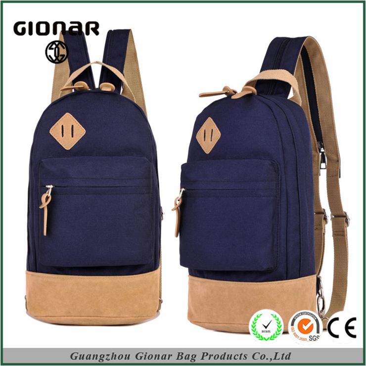 OEM Multifunctional 3-Way High School Fashion Students Pig Nose Sling Bag University Backpack