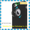 For iphone 7 case, double Layer TPU+PC combo ring holder mobile phone case for iphone 7