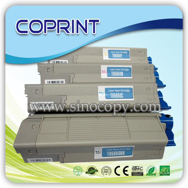 For TOC6000BK/C/Y/M color toner used C5600-US/6050-US