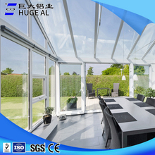 High quality aluminum extrusion sunroom