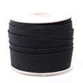 25mm Black Knitted Elastic Bands Manufacturer from China
