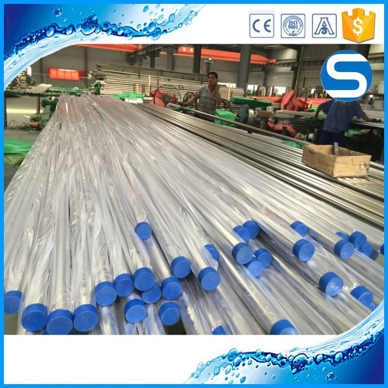 sanitary pipe fitting 304 seamless stainless steel tube and pipe