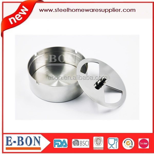 stainless steel ashtray Cigarette Ashtray for high quality life