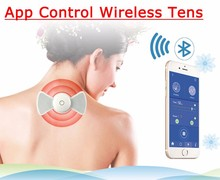 Sunmas APP bluetooth wireless control 16 kinds therapy symptom Weight loss handheld massager