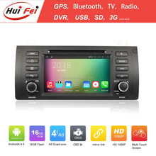 1024*600 Pixel Digital Toch Screen Audio Car Stereo For BMW X5 E39 E53 China Manufacturer