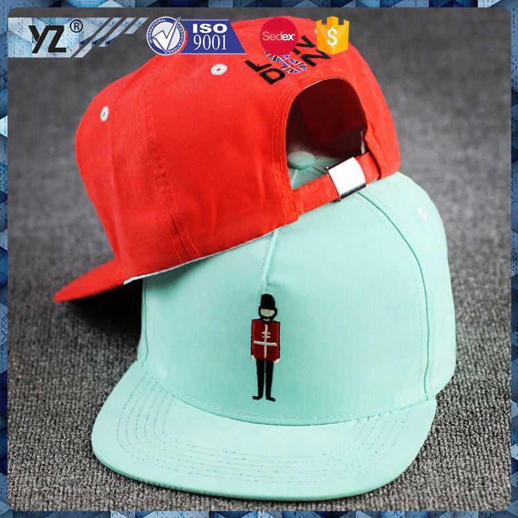 Best selling trendy style flower snapback hats custom for promotion