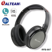 2017 RFB977 rechargeable stereo active noise cancelling bluetooth headphones