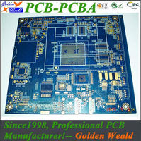 Multilayer pcb manufacturers in shenzhen china led light pcb with battery