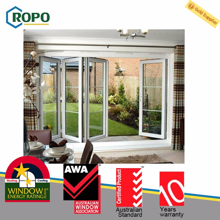 Economical custom design pvc plastic folding door