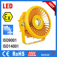 IECEx ATEX out led100w factory light led explosion proof flood lighting fixture led industrial bay light