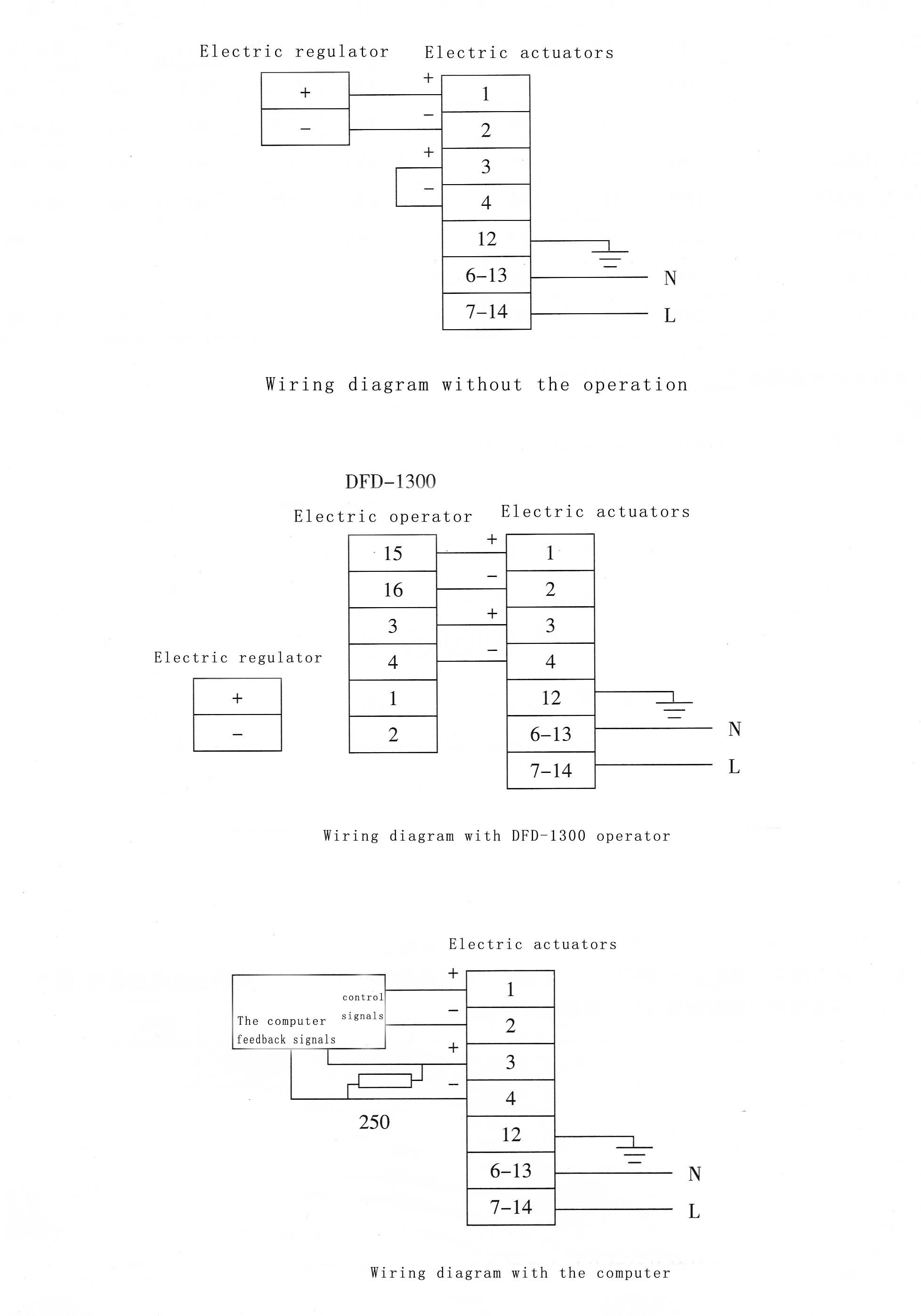Auma Actuator Control Wiring Diagram from sc01.alicdn.com
