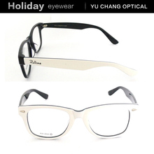 Best quality wood acetate eyeglasses eco-freindly