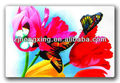 butterfly flower printed placemat