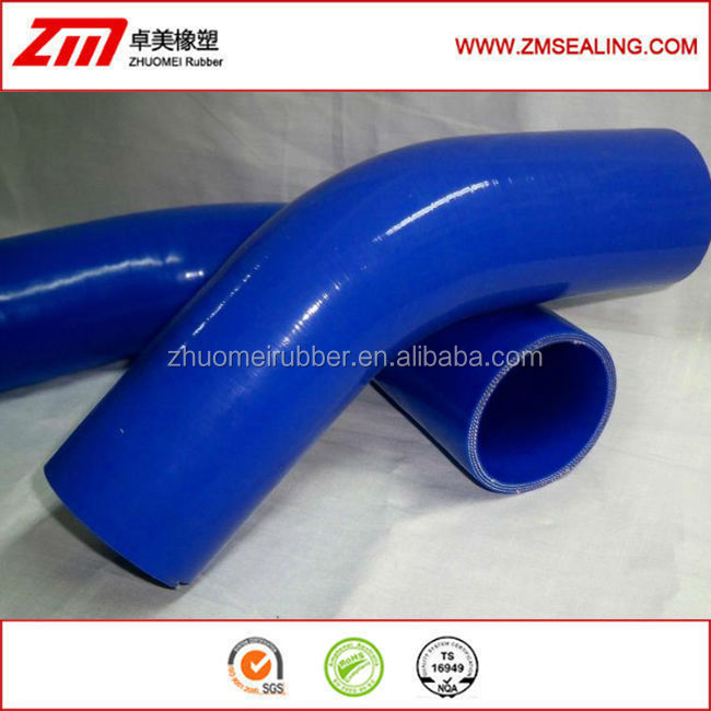 BLUE 45 degree 76MM 3INCH elbows Auto Silicone Hose for car/ truck / motorcycle