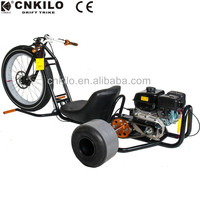 CE Certification 151-200cc Motorized Gas Drift Trike for adult downhill slider pedal go kart