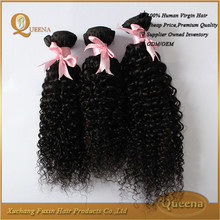 Alibaba Express Grade 7a Virgin Peruvian Jerry Curl Hair Weave Extensions Human Hair