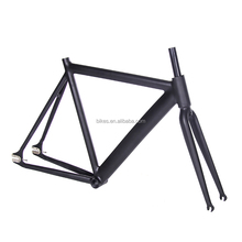 FGF01 in stock cheap aluninum alloy No Welding oem fixed gear bike frames