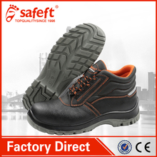 China cheap black importers camel active men's leather construction work high heel steel toe safety shoes/Dubai