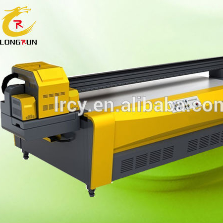 LR 2513 Digital Flatbed Inkjet UV Printer Price / Large Format Glass Printing Machine