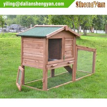 Wood egg laying chicken coop, hen house