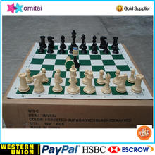 Top grade american quality standard tournament plastic chess pieces in factory price