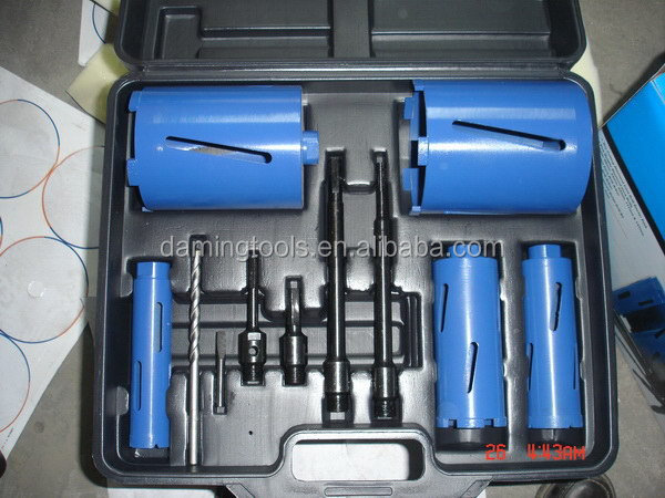 Designer custom platform saw diamond core bit
