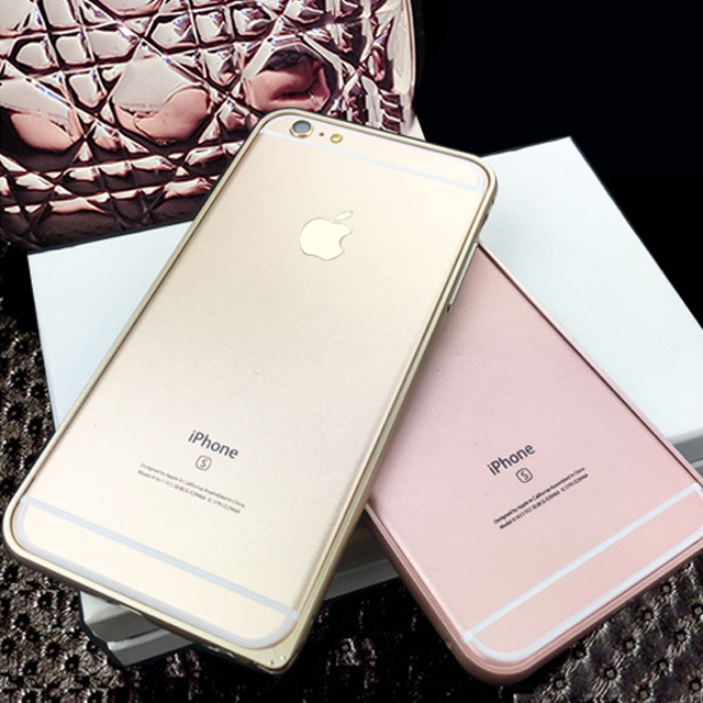 Baking Finish Bumper Case for iPhone 6,for iPhone 6s Mobile Phone Aluminum Bumper Cover