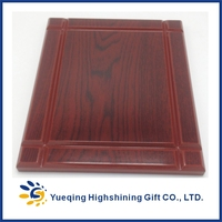 Wholesale custom wooden plaque blank trophies and awards wood award
