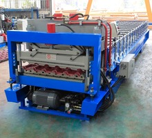 Xiamen Roof Tile Machine Glazed Tile Roll Forming Machine metal roll forming machine