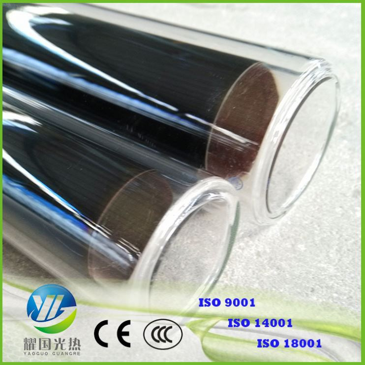 Solar Collector Tube Solar Collector 70Mm Solar Glass Vacuum Tube With Copper Heat Pipe