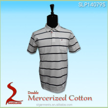 Yarn dyed fabric polo shirts/bulk garments famous manufacturer