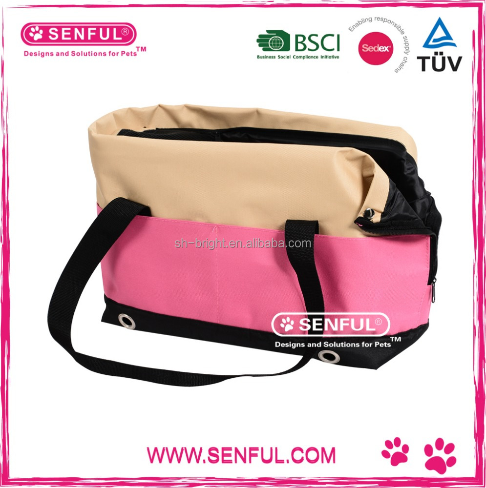 Fashion Pet Carrier made in China competitive pet handbag