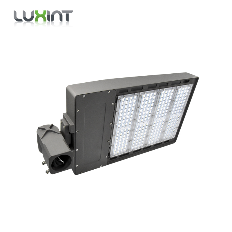 ETL DLC certificate 100w 150w 200w 300w Module led shoebox street light fixtures from Shenzhen led light supplier