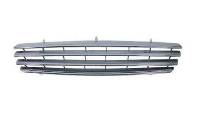 FRONT BUMPER GRILLE FOR MERCEDES BENZ W215 CLS500 CLS600 2000 CHROME SILVER