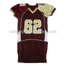 Latest Design American Football Unifrom Jersey Shirt Kit Wear