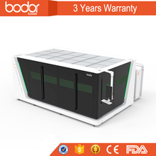 BODOR CNC Fiber 1000W Laser Cutting Machine For Carbon Steel 1500*300MM