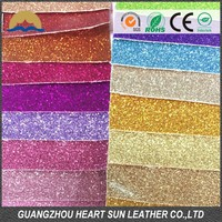 2015 new pu glitter leather product for women shoes (Cuero sintetico de glitter para calzado)