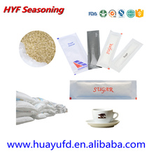 brown sugar sachet/ disposable tea coffee sugar/ sachet stick sugar