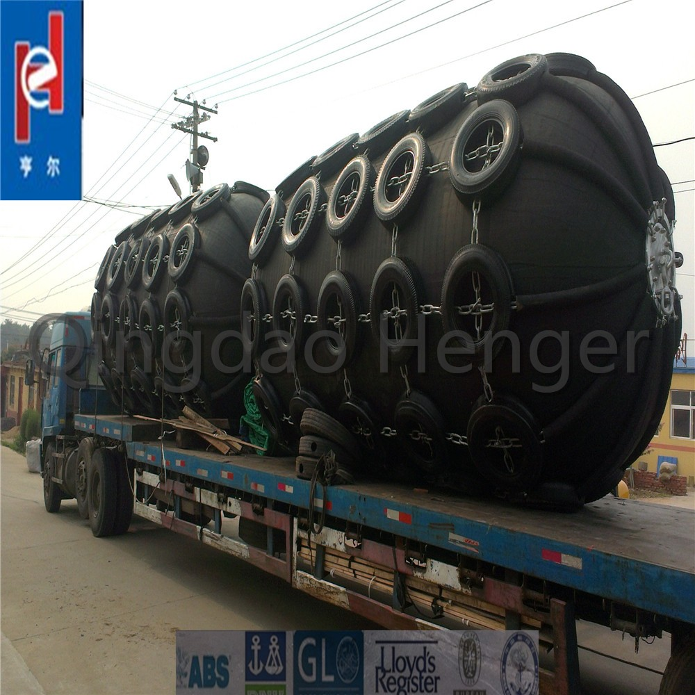 Yokohama type floating pneumatic rubber barges fender for seal