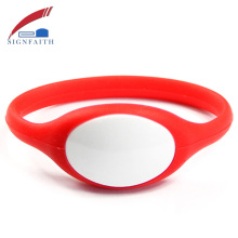 Smart Bracelet NFC RFID Silicone Vibrating Scannable Wristband