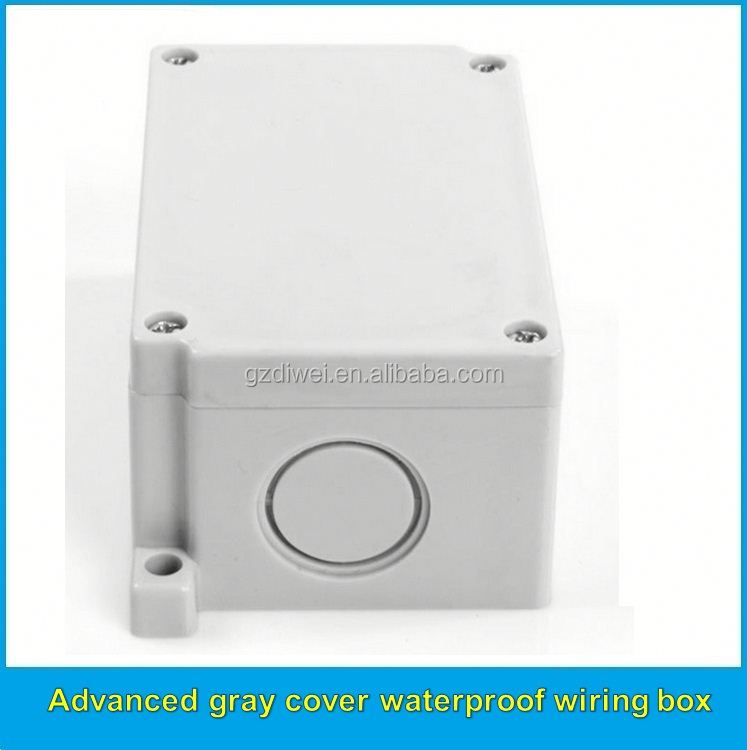 Professional factory supply different types die casting enclosure electrical plastic junction box on sale