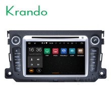 Krando Android 7.1 car radio for benz smart fortwo 2010-2014 car multimedia android dvd gps navigation system WIFI 3G KD-MB214