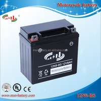 12v 9ah maintenance free motorcycle battery Sealed lead acid motorcycle Battery 12N9-BS(12V9AH)