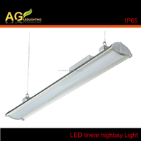 UL DLC certification warehouse and industrial led linear high bay light 200w