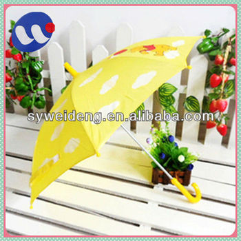 "16""*8k manual open children toy umbrella"