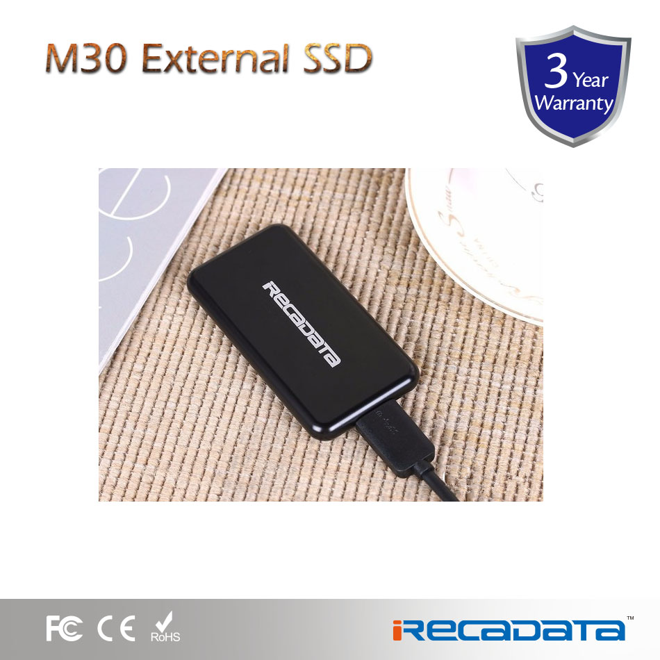 irecadata usb3.0 mini external ssd 500gb m30 Series for pc laptop desktop and server