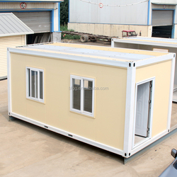 High quality steel frame safe portable modular cabin prefab house small