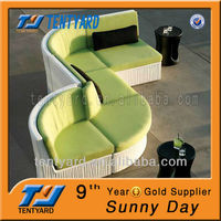 polyester whosale waterproof cheap plain new design irregular outdoor chair cushion