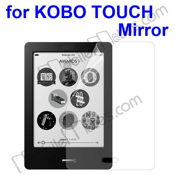 High-Quality Mirror Effect Screen Protectors for KOBO Touch Screen Protectors