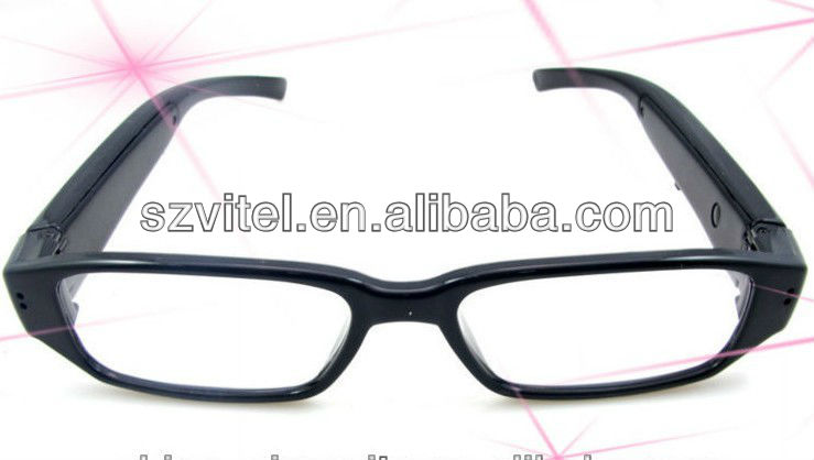 HD mini hidden camera glasses 1280*720 Eyewear camera
